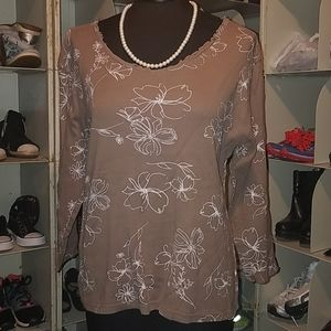 Fresh produce brown white top size large